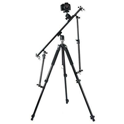 £13.81 • Buy Foldable Photography Camera Video Slider Support Tripod Rods 2-Sections For Cam