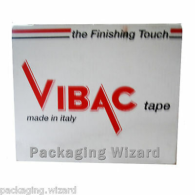 £5.99 • Buy Vibac ~ Strong Adhesive Packing Tape ~ Buff / Brown ~ 48mm X 66m ~ 3 Rolls