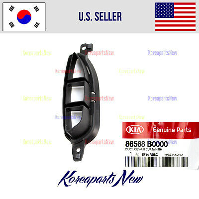 $13.62 • Buy Front Bumper Grille Air Duct Right PASSENG 86568B0000 ⭐OEM⭐ Kia Forte 2017-2018