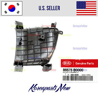 $28.92 • Buy Front Bumper Cover Air Duct Left DRIVER 86575B0000 ⭐OEM⭐ Kia Forte 2017-2018
