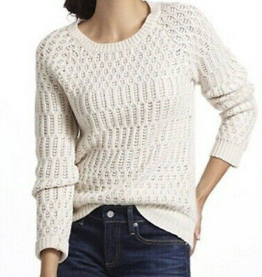 $ CDN12.59 • Buy Anthropologie Hamilton Cottage Sweater From Sparrow, S