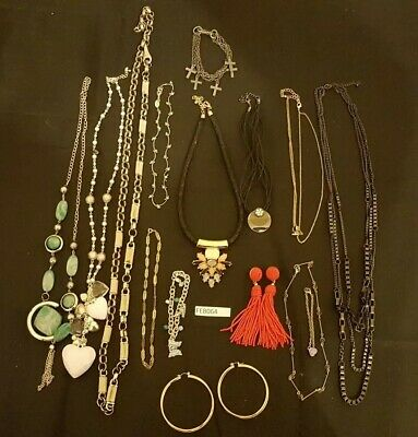 Joblot Mixed Costume Jewellery Vintage And Modern Necklaces Bracelets  • 4£