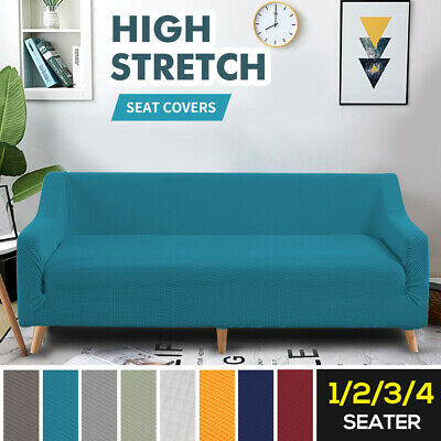 AU34.99 • Buy Sofa Covers 1/2/3/4 Seater High Stretch Lounge Slipcover Protector Couch Cover