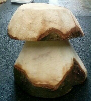 Wooden Mushroom - Chainsaw Carving Garden Ornament  • 13.99£