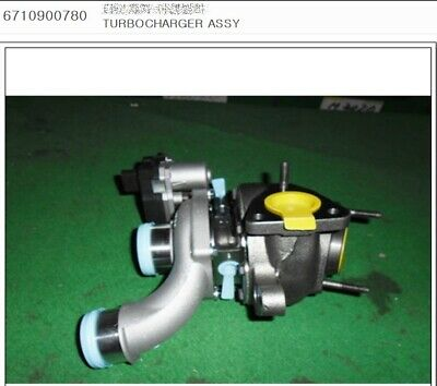 AU2197.38 • Buy Genuine Turbocharger Ssangyong STAVIC, KORANDO SPORTS, REXTON +D20R #6710900780