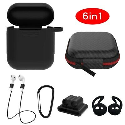 $ CDN8.27 • Buy Best 6 In 1 Aripod Protection Kit Airpod Case Earhooks Airpod Strap Airpod Cover