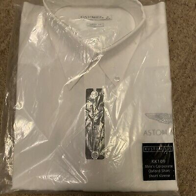 Aston Martin White Long Sleeve Shirt • 6.20£