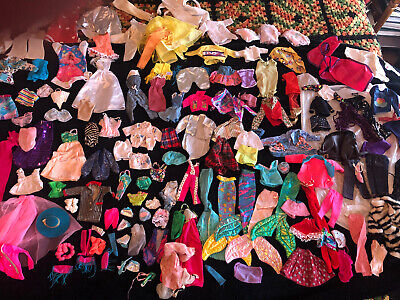 $ CDN19.19 • Buy Huge Lot Of Vintage Barbie Doll Clothes 50's - 90's