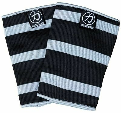 AU78.59 • Buy STRENGTH SHOP TRIPLE PLY ODIN KNEE SLEEVES (MED) - Squats Deadlifts Gym Sbd