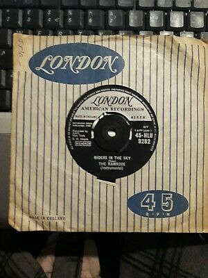 Rare 7' Vinyl 45rpm The Ramrods Riders In The Sky, Grab A Bargain! • 1£