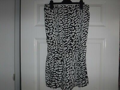 UK Womens Summer Beach Wear  Playsuit Ladies Beach Cover Up Size 12 • 2£