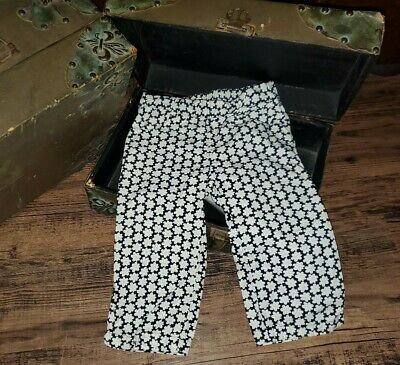 $9.99 • Buy Gymboree Bee Chic Black White Yellow Flower Pants Size 2T *