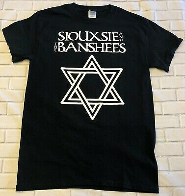 Siouxie And The Banshees STAR  'Black'  T-Shirt • 9.99£