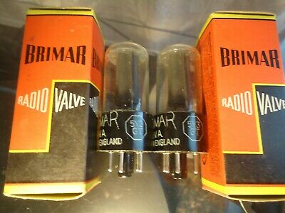 $ CDN302.06 • Buy Brimar 5y3gt Pair Of British New Old Stock New In Box Tested Vintage Valves