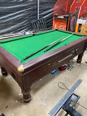 Pool Table Coin Operated Supreme Prince Mechanical 7x4 Foot Arcade Machine • 400£