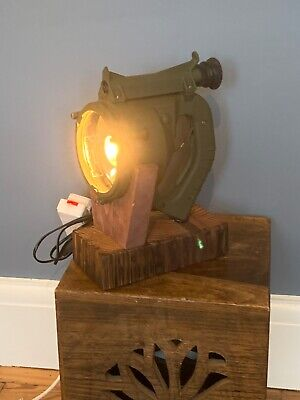Vintage Antique Signal Lamp Search Lamp  converted To Table Lamp • 39.99£