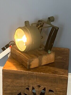 Vintage Antique Signal Lamp Search Lamp  converted To Table Lamp • 29.99£