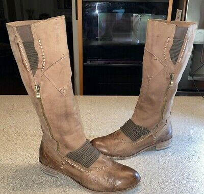 $79.99 • Buy Anthropologie Leather Boots Everybody By BZ Moda US10 EUR 41 RP250