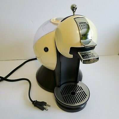 $45.99 • Buy Nescafe Dolce Gusto Krups KP220 Melody 3 Cream Colour Coffee Machine Maker