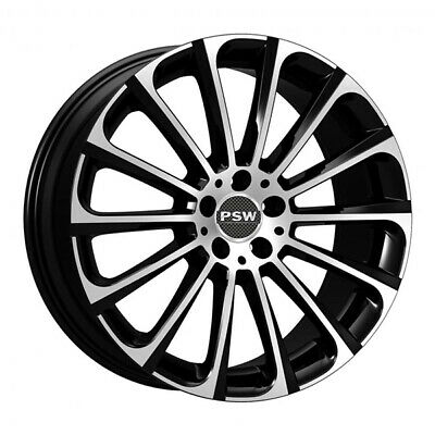 AU357.10 • Buy ALLOY WHEEL PSW TURBINA SUZUKI VITARA 7.5x17 5x114.3 BLACK DIAMOND D1e