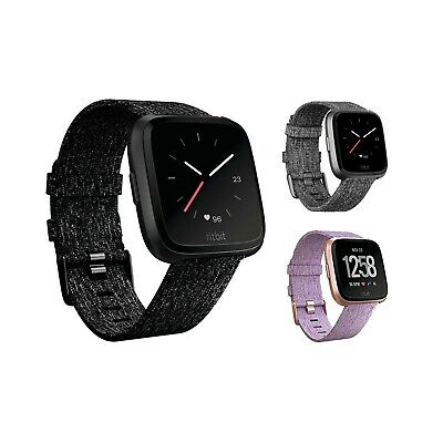 $ CDN140.75 • Buy Fitbit Versa Smartwatch Special Edition Woven Band Fitbit Pay New Open Box