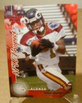 $ CDN1.31 • Buy 2000 00 Leaf Rookies & Stars NFLE Prospect RC  #273 Alonzo Johnson Rhein Fire #d