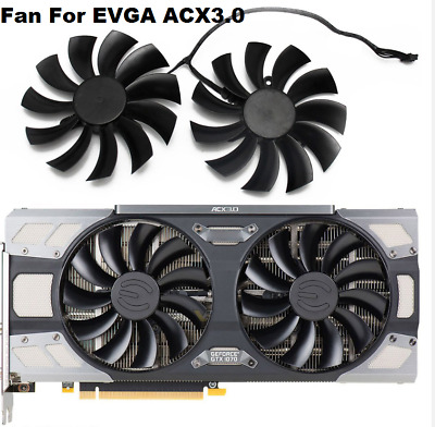 $ CDN32.14 • Buy For EVGA GeForce GTX 1080 1070 1070Ti FTW2 GAMING ACX3 Graphics Card Cooling Fan