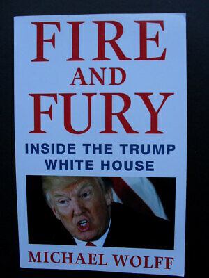 AU24.95 • Buy FIRE AND FURY: Michael Wolff: Inside The Trump White House: Most Controversial.