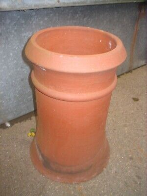 Clay Chimney Pot And Cap For Unused Flues  • 25£