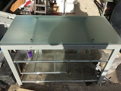 Tv Display Stand And Coffee Table Glass Used Argos • 5£