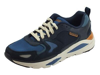 Skechers Streetwear 66020 / Navy Verrado Brogen Men's Shoes Fitting Comfortable • 66.86£