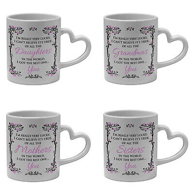 £8.99 • Buy Of All The...In The World I Got The Best One..Novelty Gift Mug W/ Heart Handle