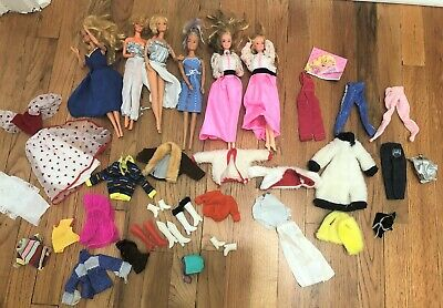 $ CDN15.22 • Buy VIntage Barbie And Barbie CLothes Lot - 1980's Mostly