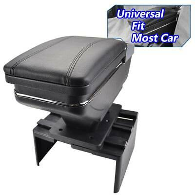 $40.84 • Buy Armrest Center Center Console Lid Kits Organizer Storage Seat Box Black US Tray