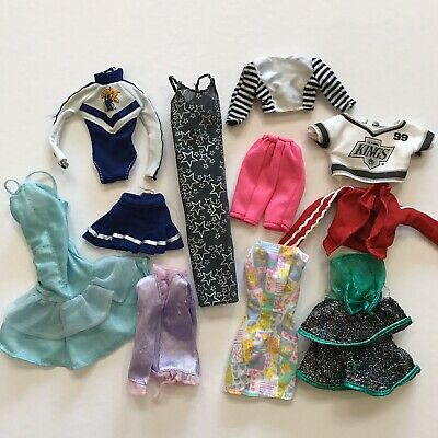 $ CDN15 • Buy Barbie And Other Doll Clothes 90s Fashion Clothing Mattel Vtg Lot Dresses