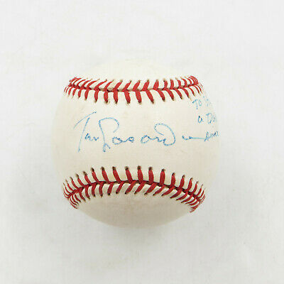 $ CDN34.88 • Buy Tommy Lasorda MLB Player & Coach Signed Autographed Rawlings Baseball W/CoA