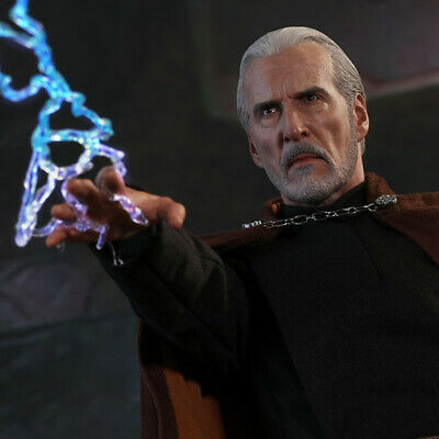 $ CDN356.98 • Buy HOT TOYS Attack Of The Clones Count Dooku 1:6 Figure NEW SEALED DOUBLEBOX