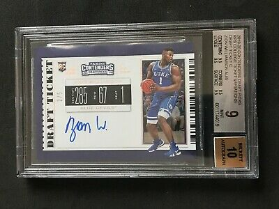 $1799.99 • Buy 2019-20 Contenders Draft Zion Williamson RC Variation Auto 2/5 BGS 9  3-9.5s