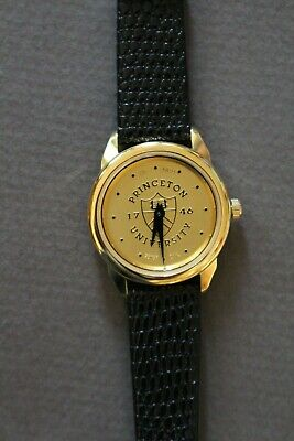 $32 • Buy NEW Princeton University Gold Coin Style Ladies Womens Wristwatch By CSI Swiss