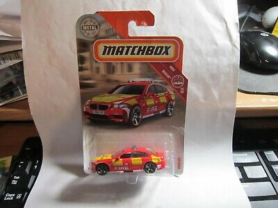 $2.29 • Buy NEW 2018 Matchbox BMW M5 #68 MBX Rescue 15/30 Red Fire