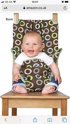 Totseat. Portable, Travel Highchair. GUC Retro Design • 3£