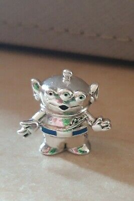 Genuine Pandora DISNEY'S PIXAR TOY STORY ALIEN Charm Bead 798045EN82. USED. • 10.50£
