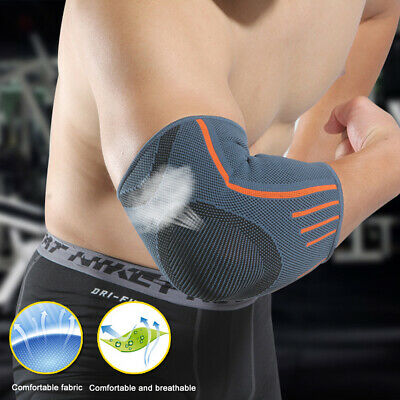 Tennis Elbow Support Gym Brace Golfers Strap Epicondylitis Band Clasp Arthritis • 4.99£