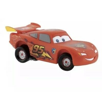 Cars 2 Lightning McQueen Car Figurine 12790 Disney Bullyland Figure Cake Topper • 3.99£