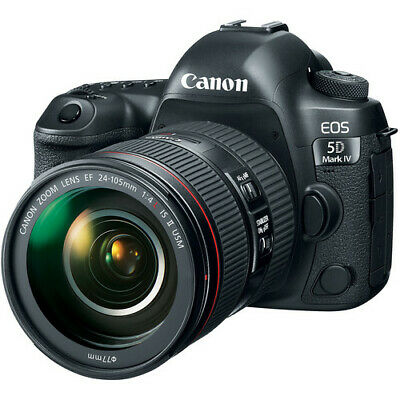 $ CDN3583.13 • Buy Canon EOS 5D Mark IV Full Frame Digital SLR Camera With EF 24-105mm II USM Lens