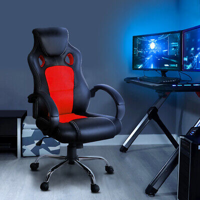AU159.99 • Buy Artiss Racing Gaming Gamer Student Office Computer Chair High Back PU Leather