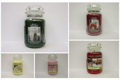 Yankee Candle Large Jars - Over 20 New Christmas Fragrances And Old Favourites • 20.75£