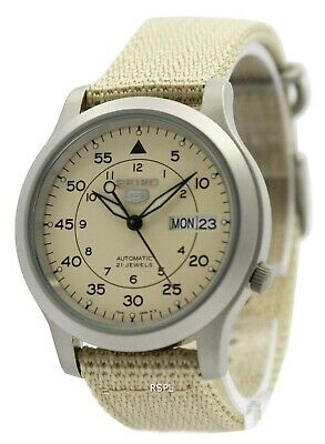 $ CDN139 • Buy Seiko 5 Military Automatic Nylon Strap SNK803K2 Men's Watch