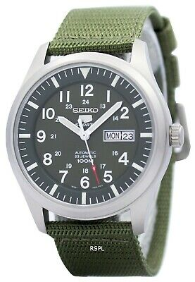 $ CDN171 • Buy Seiko 5 Military Automatic Sports SNZG09 SNZG09K1 SNZG09K Men's Watch