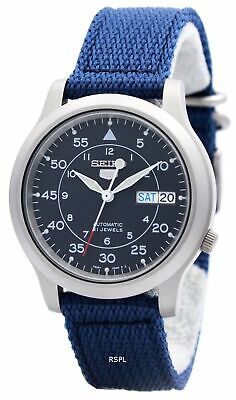 $ CDN139 • Buy Seiko 5 Military Automatic Nylon Strap SNK807K2 Mens Watch
